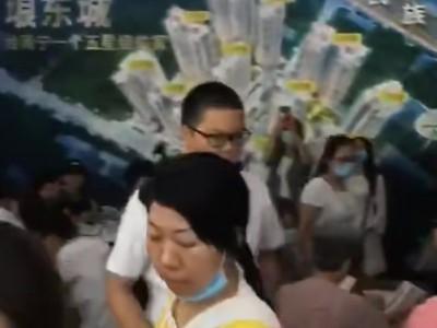 瞧一瞧,今天最大安置房南宁琅东城到底发生什么大事?